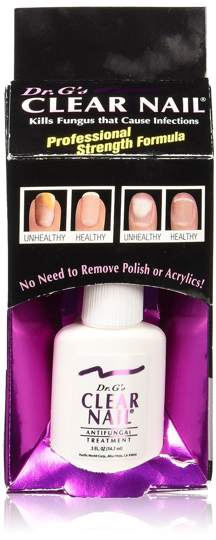 Amazon.com : Dr. G\'s Clear Nail Antifungal Treatment, 0.5 Fluid ...