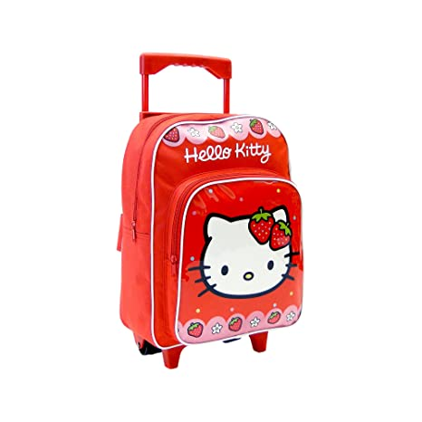 b99c44ad15 Hello Kitty Zaino Trolley capacità 34 x 13 x 30 cm Zaino Bambini 44 cm,