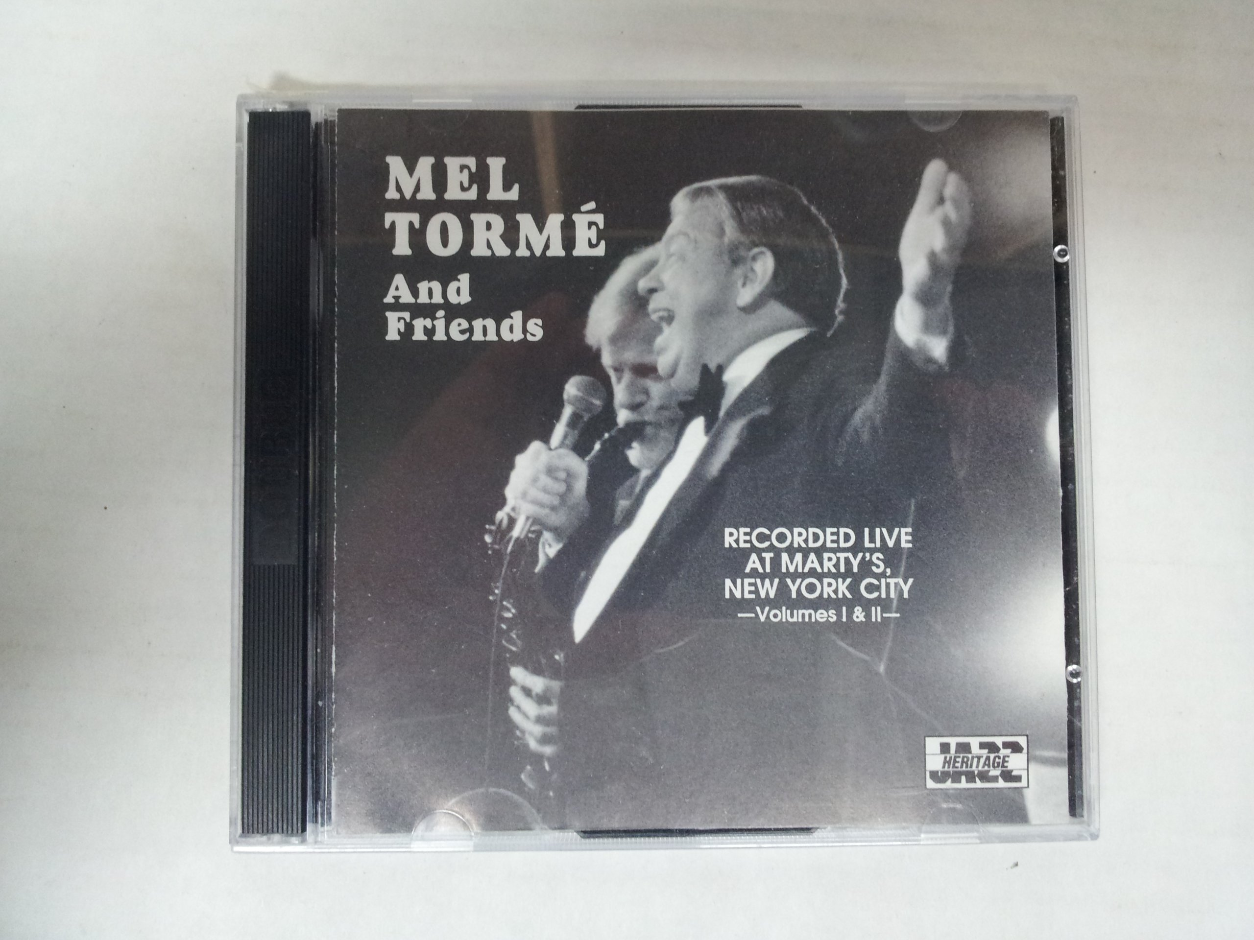 Mel Torme & Friends: Recorded Live at Marty's, New York City, Volumes I & II by MUSICAL HERITAGE SOCIETY