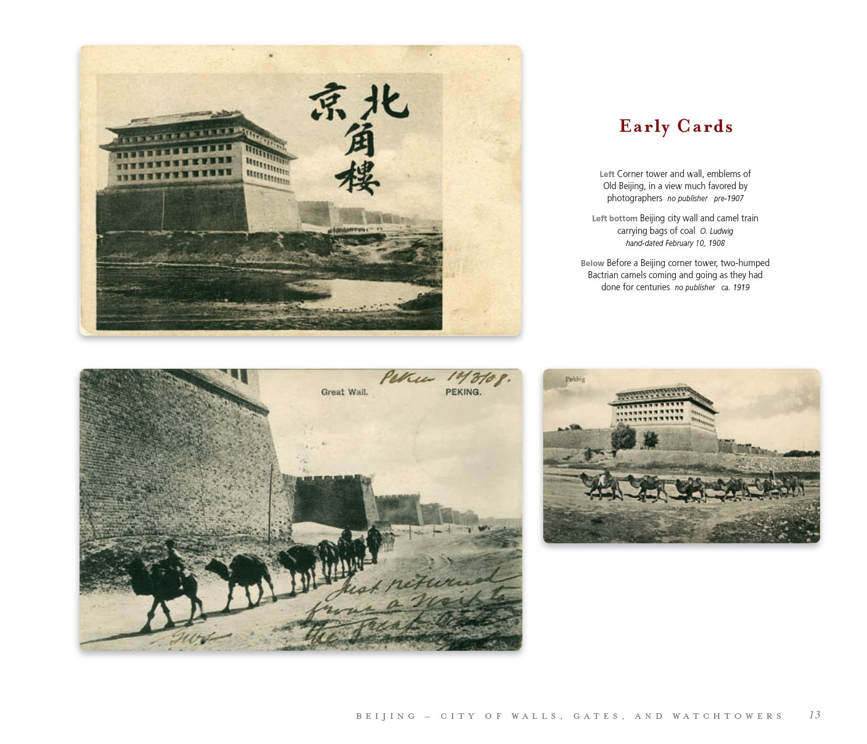 Amazon Old Beijing Postcards From The Imperial City 9780804847339 Felicitas Titus Susan Naquin Books