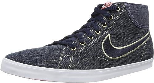 Nike Eastham Mid TXT, Hi Top Sneakers Homme Bleu Blau