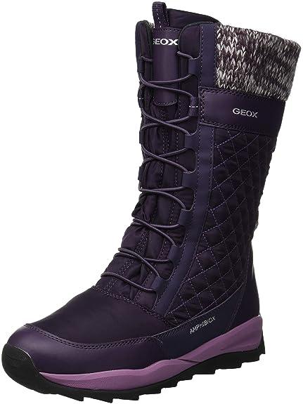 Geox J Orizont B Girl ABX C, Botas de Nieve para Niñas: Amazon.es: Zapatos y complementos