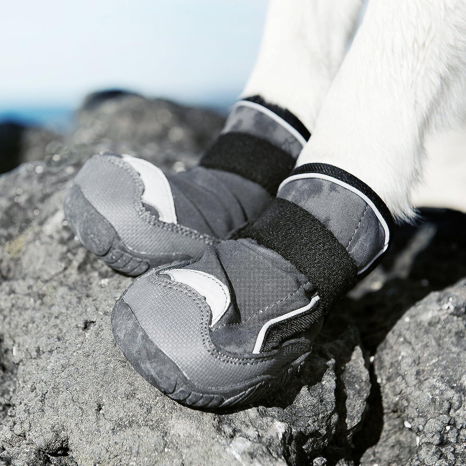 Hurtta Outback Dog Boots Granite 2 in 2 Pack HU932120 - 2