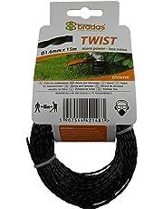 Strong TWIST strimmer/brush cutter line 15m length,less noise,