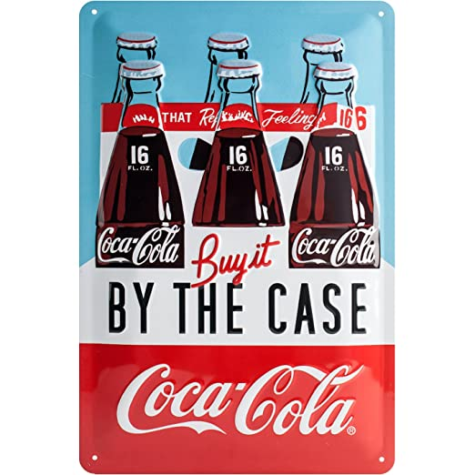 Nostalgic-Art 22266, Coca-Cola - by The Case, Cartel de ...