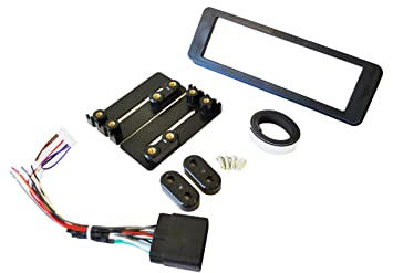 Single Din ISO Install Dash Kit with Wiring Harness ... on
