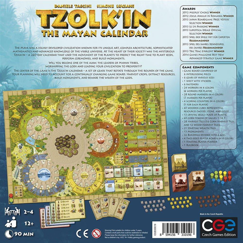 Czech Games Tzolk'in: The Mayan Calendar by Czech Games (Image #2)
