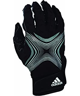 935ceee8a2d0 Amazon.com : adidas Filthy Quick Football Gloves, White/Black, X ...