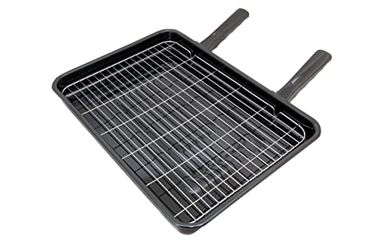 Spares4appliances - Bandeja universal con parrilla para horno (42 ...