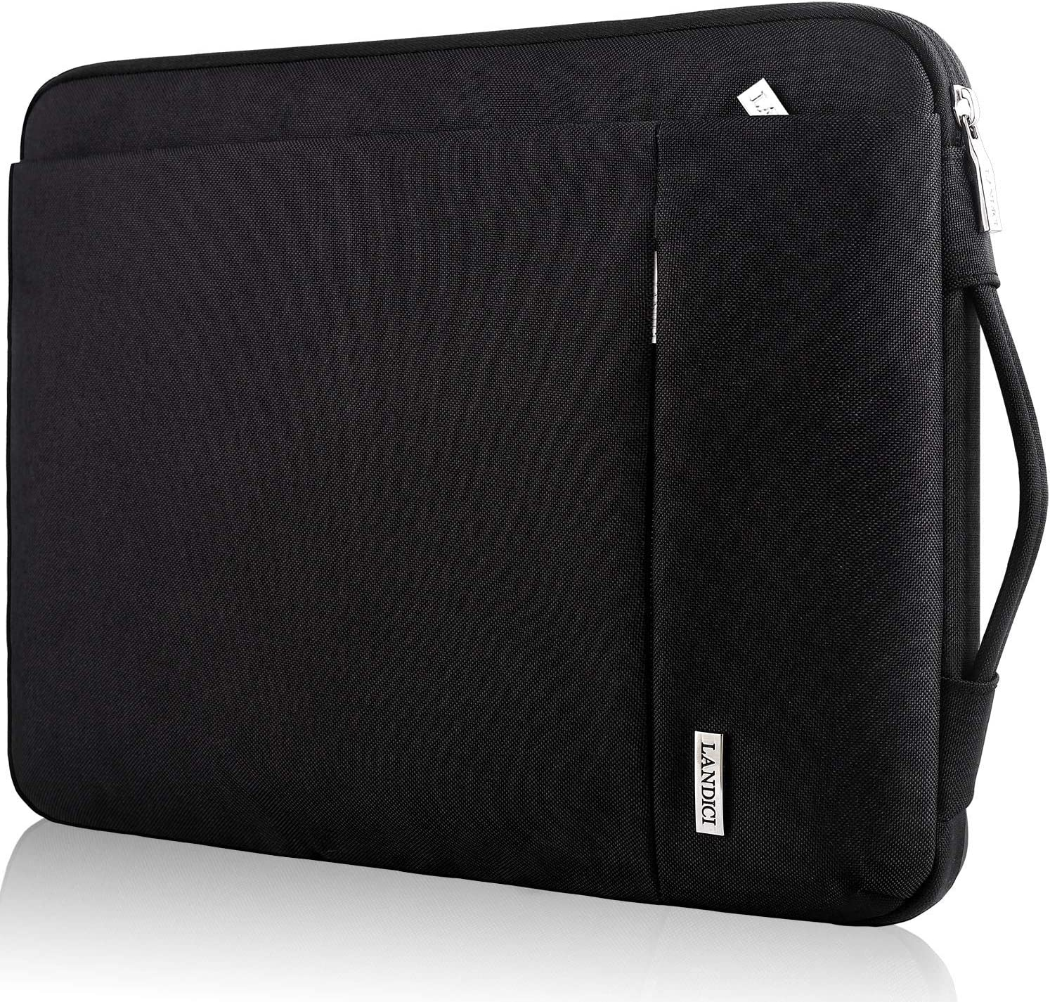 Landici 360 Protective Laptop Case Sleeve 14-15.6 Inch,Waterproof Slim Computer Bag Cover Compatible for 16