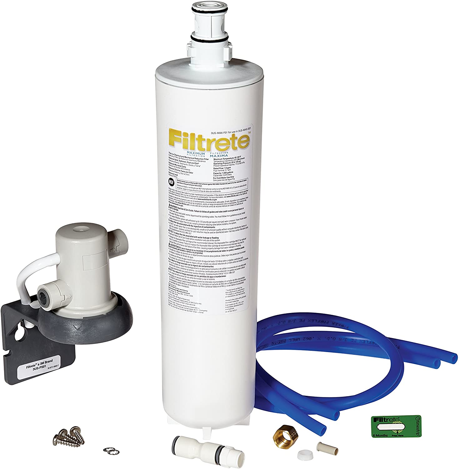 Filtrete 3US-MAX-S01 Under Sink Water Filter
