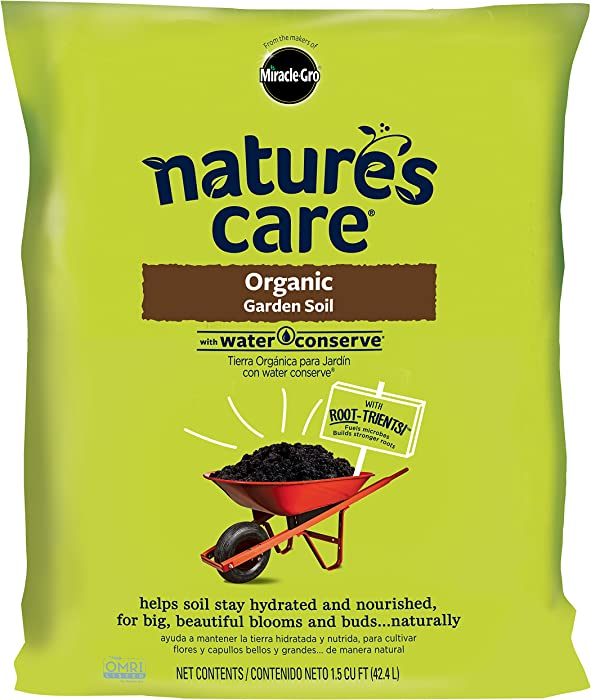 Top 10 Miracle Gro Nature's Care Garden Soil