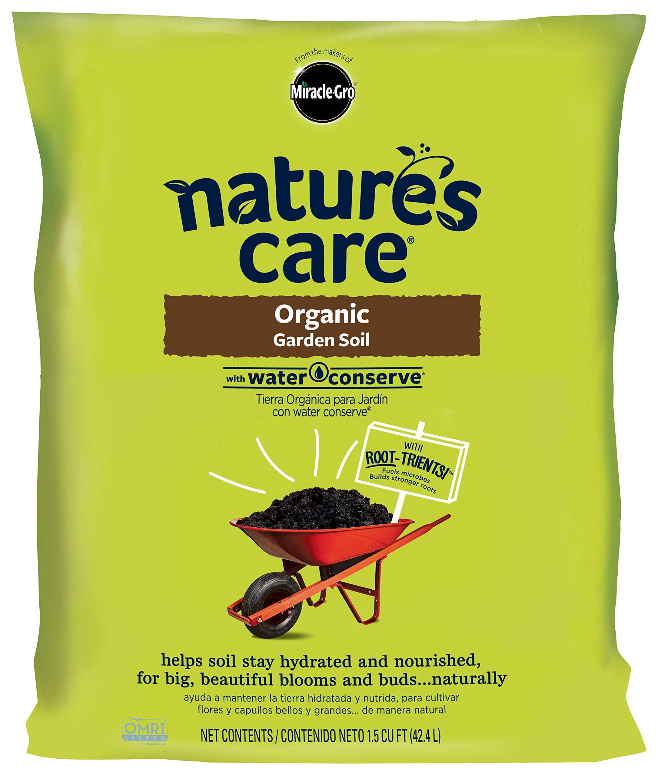 Nature's Care Organic Garden Soil with Water Conserve 1.5 CF