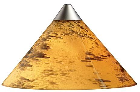 Juno Lighting Group PKH310AMBERDRIFT 1 Light 12 Volt Short Cone  Mini Pendant Kit