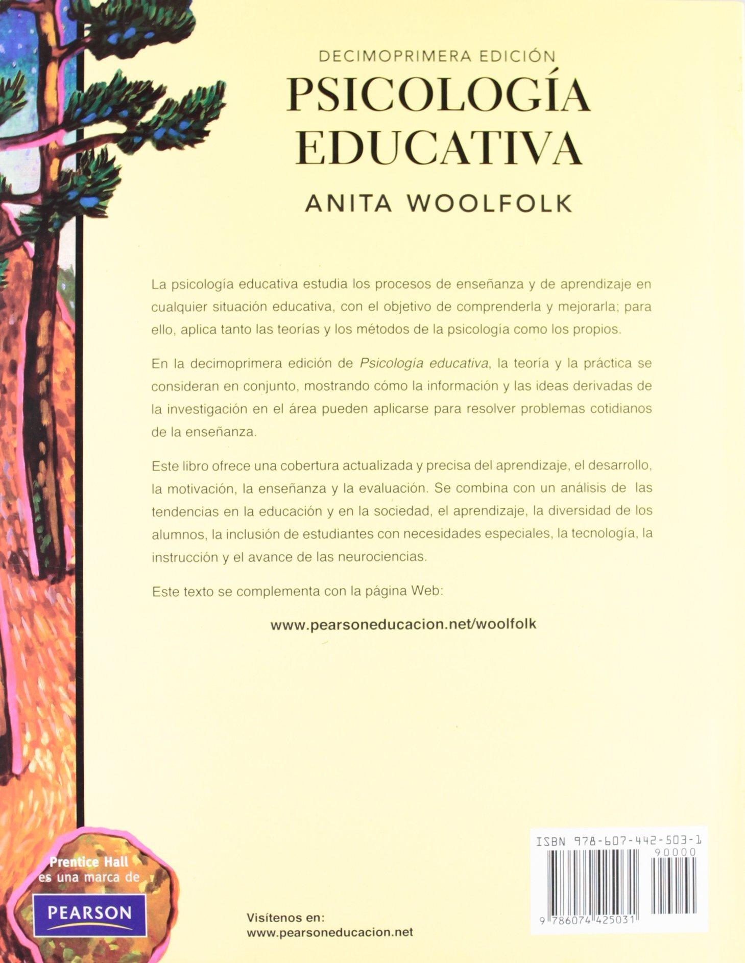 libro psicologia educativa anita e.woolfolk