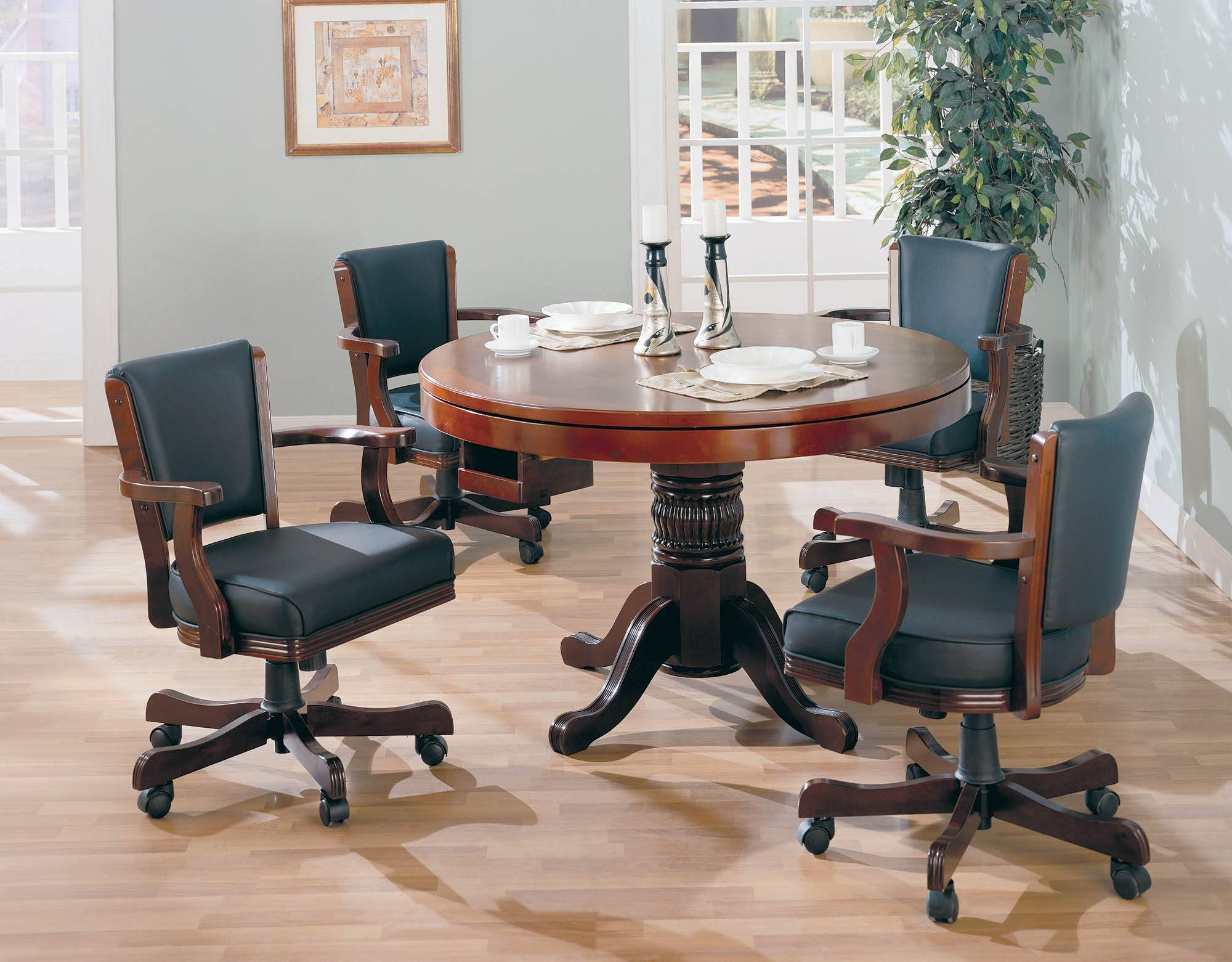 Mitchell 5-Pc Game Table Set by Coaster