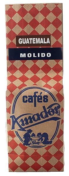 Cafés AMADOR - Café MOLIDO GRUESO Natural Arábica - GUATEMALA ...