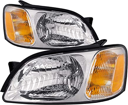 For 2000-2004 Subaru Legacy L Baja Sport Replacement Headlights lamps Left+Right