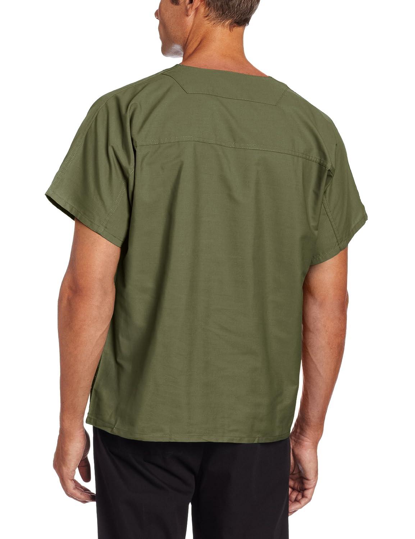 7502 FREE SHIPPING! Landau Unisex Tall Short Sleeve V-Neck Scrub Top
