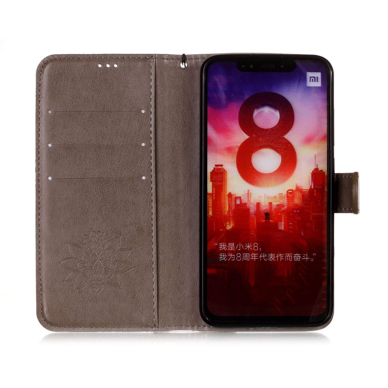 Vepbk f/ür Xiaomi Redmi S2 H/ülle Handyh/ülle Leder Schutzh/ülle Handytasche H/ülle mit Magnet Kunstleder Muster Flip Case Lederh/ülle Cover Klapph/ülle Etui Tasche f/ür Xiaomi Redmi S2,Rose Gold