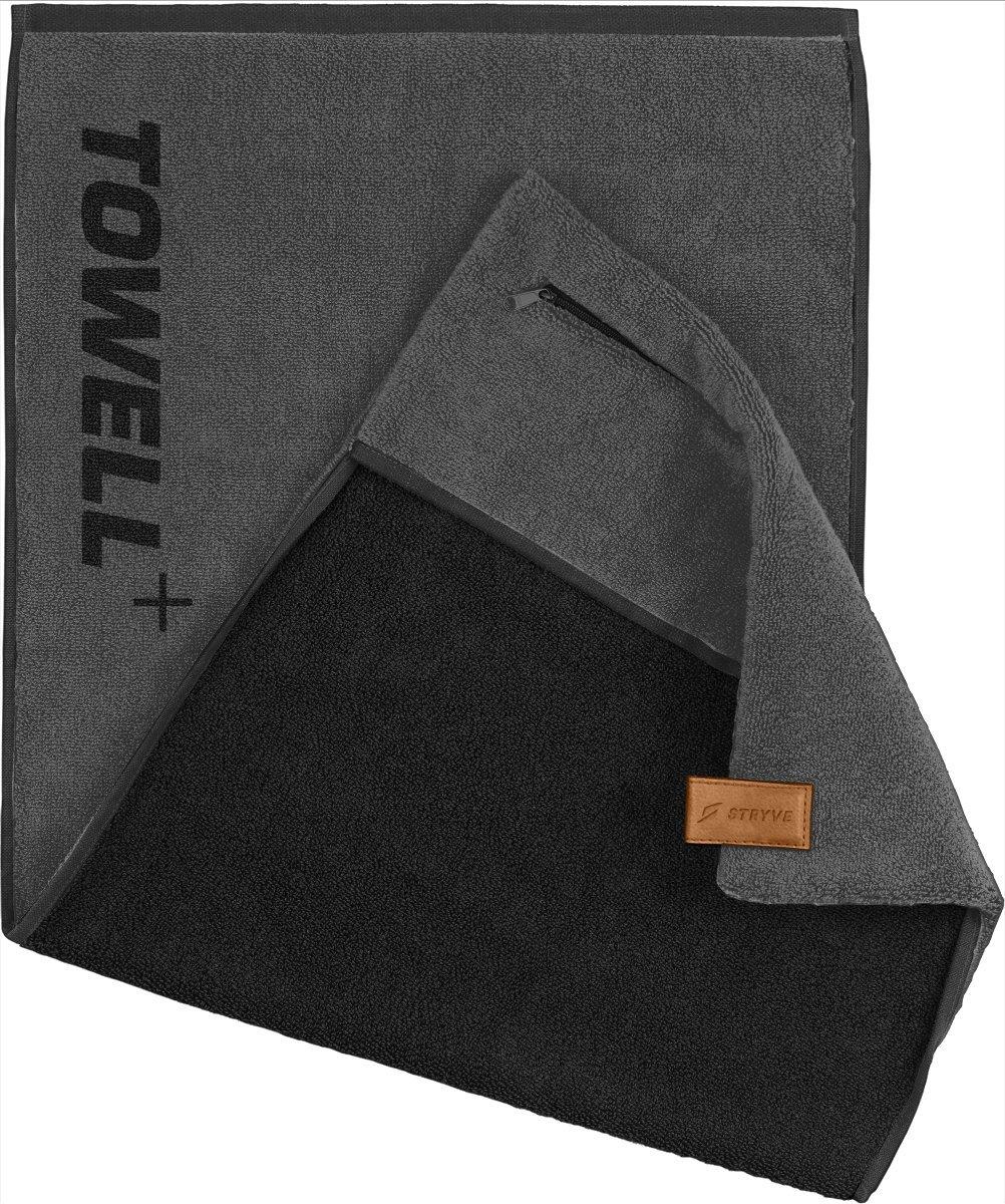 STRYVE Toalla Towell Bolsillo, Enganche magnético y protección Antideslizante: la Toalla para Deportistas product