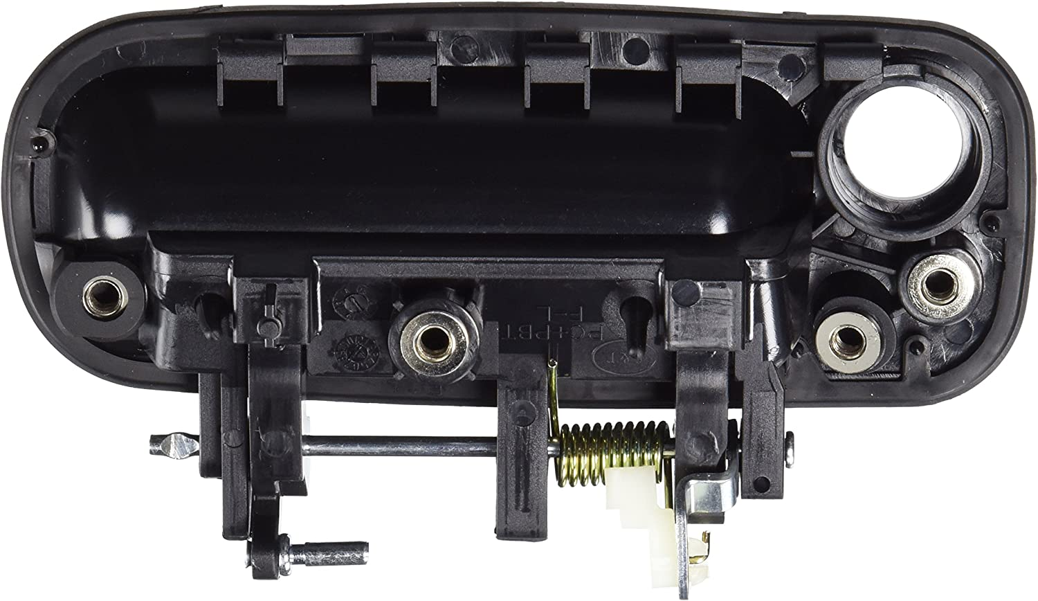 IPCW DH-TY3518F1 Black Passenger Side Front Outer Door Handle