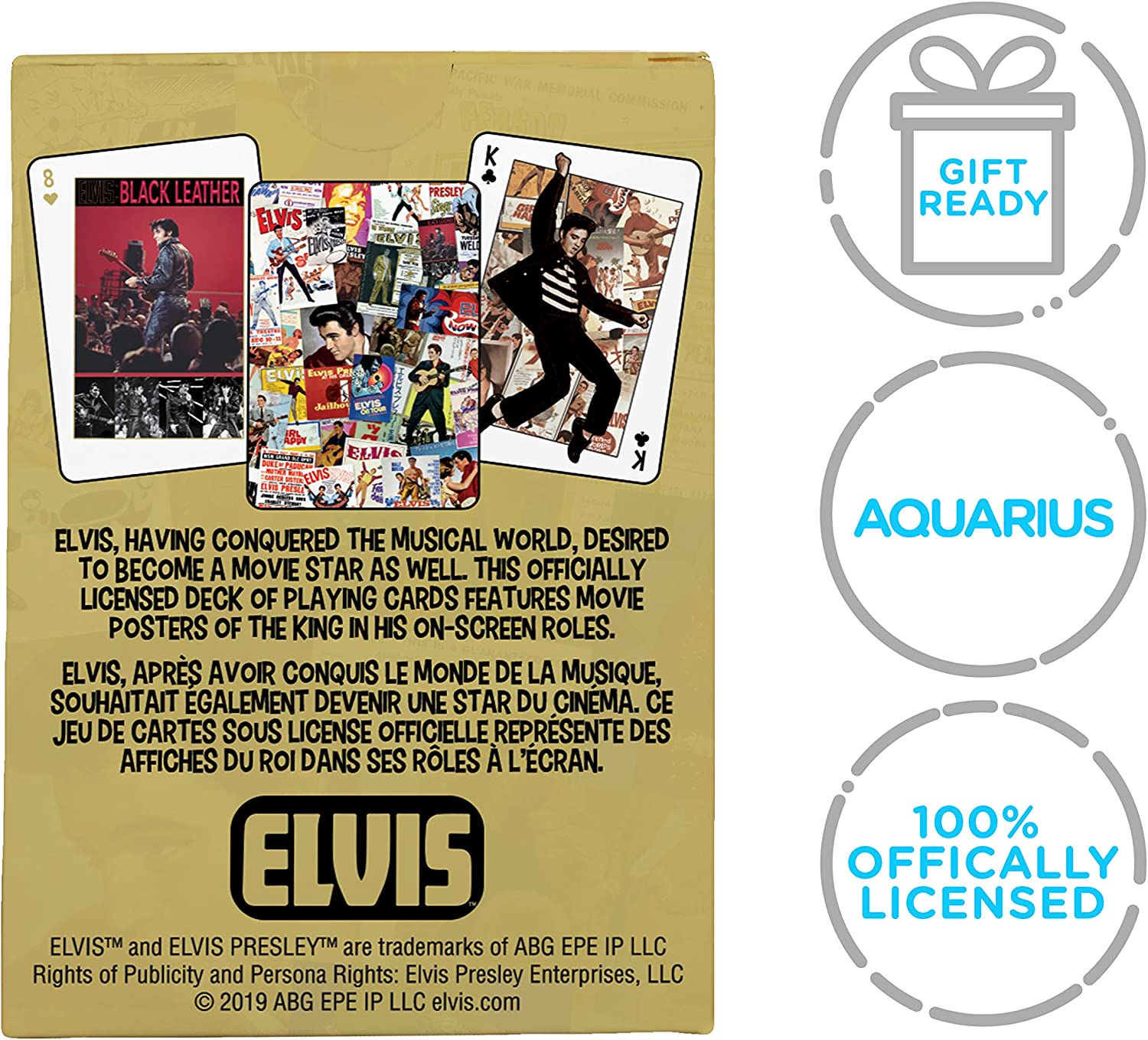 Movie Posters Poker New 52607 Elvis Playing Card