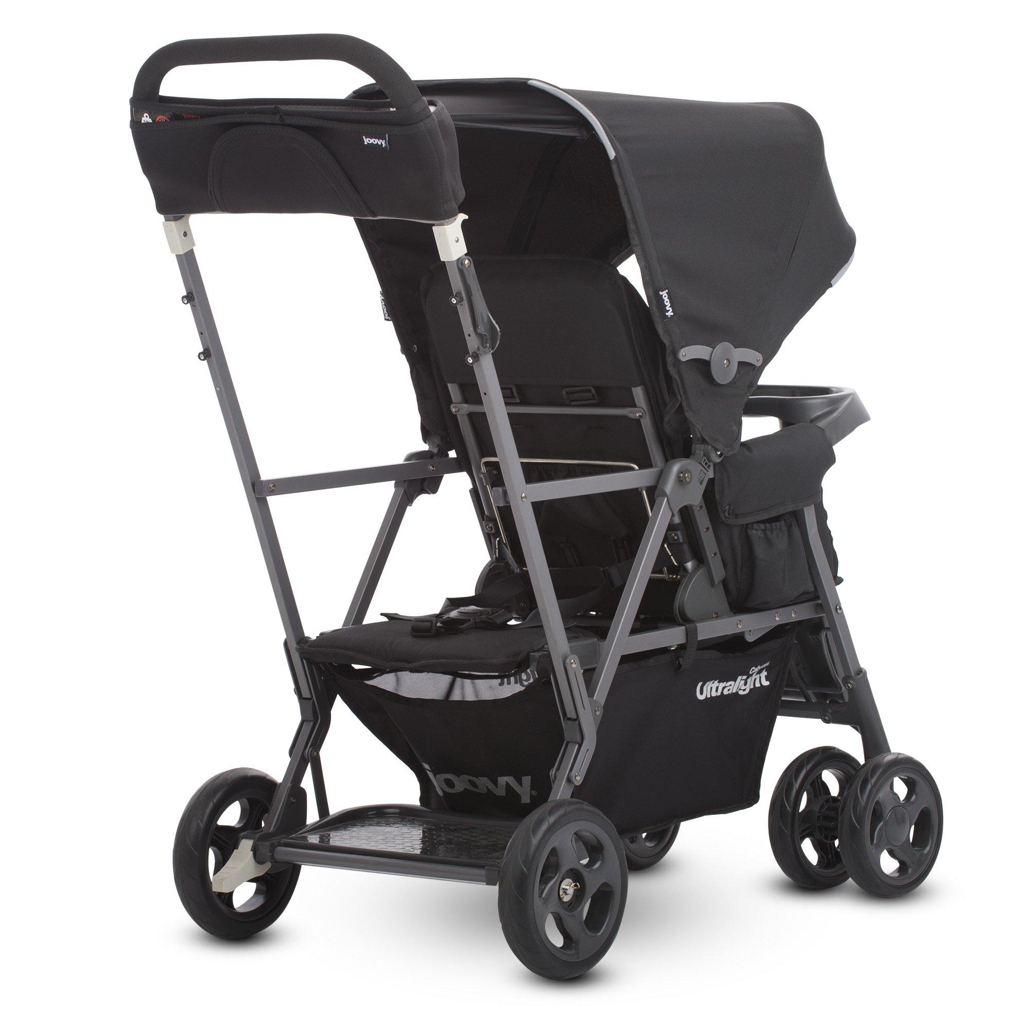 Joovy Caboose Ultralight Graphite Stroller, Black by Joovy (Image #2)