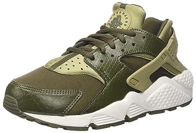 info for dee30 5ee3e Nike WMNS Air Huarache Run, Chaussures de Running Compétition Femme,  Multicolore (Neutral Olive