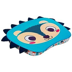 LapGear Lap Pets Lap Desk for Kids - Hedgehog - Fits up to 13.3 Inch laptops - Style No. 46705