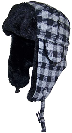 Best Winter Hats Big Kids Plaid Russian Aviator Winter Hat (One Size) - 480b0b808b5