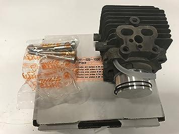 Stihl Original Cilindro con pistón para BG y SH: Amazon.es ...