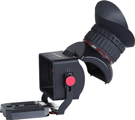 Visor para Vídeo con Pantalla LCD 3X Universal Movo Photo VF40 con ...