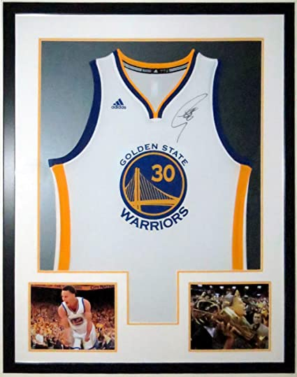 best website 20cb0 28ca0 Stephen Curry Signed Authentic Golden State Warriors Jersey ...