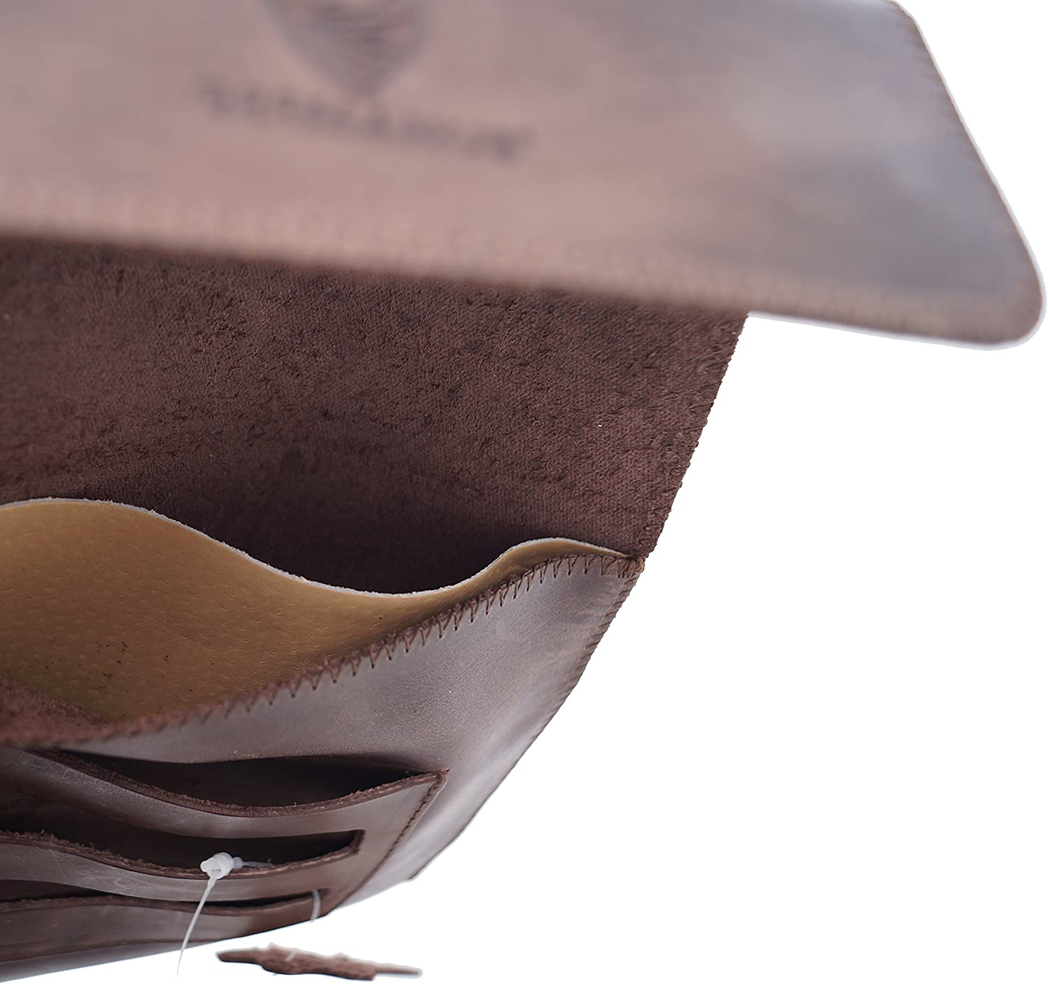 Made in EU GERMANUS Tobacco Pouch from Genuine Leather Strong Calf