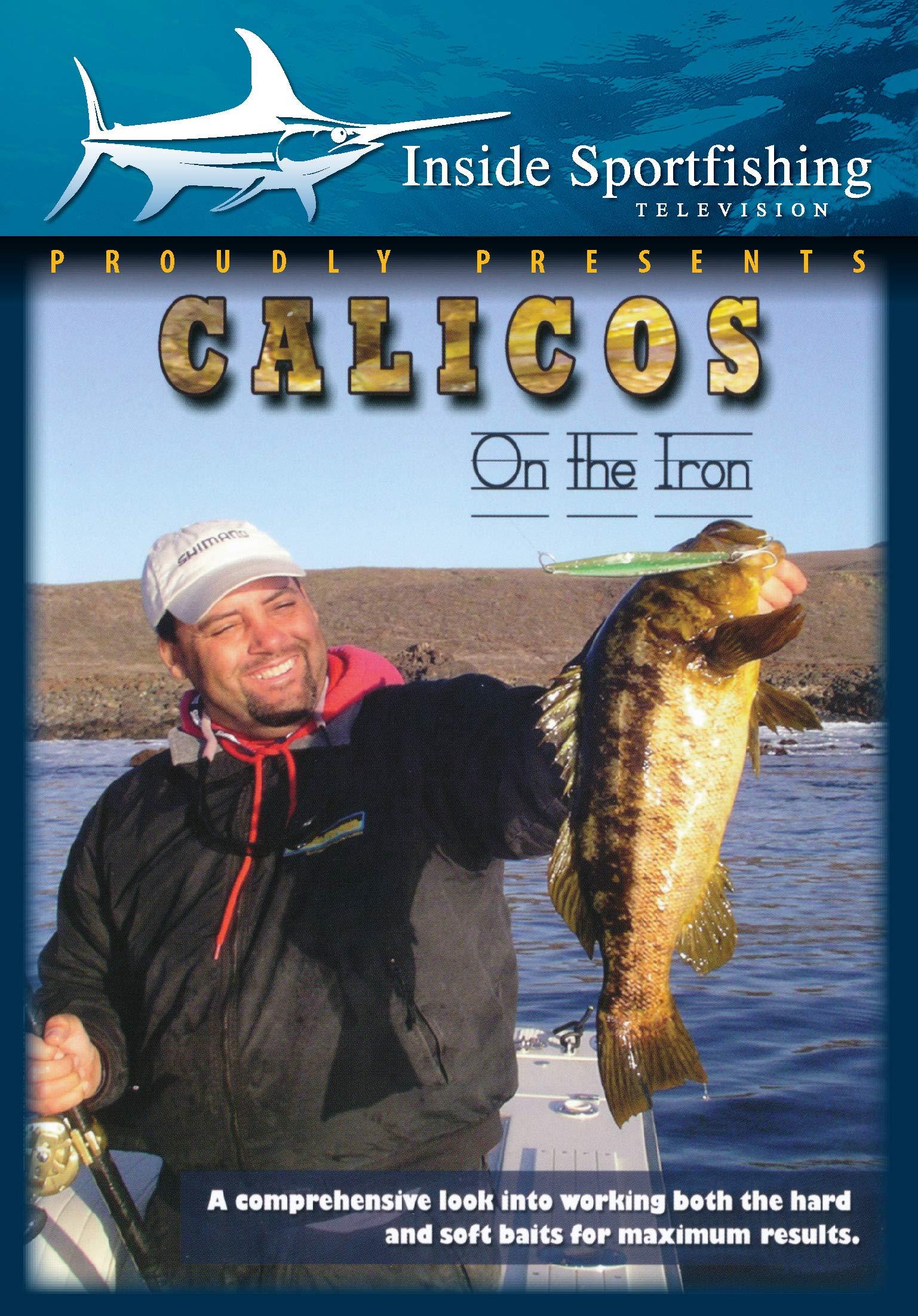 DVD : Inside Sportfishing: Calicos On The Iron (DVD)