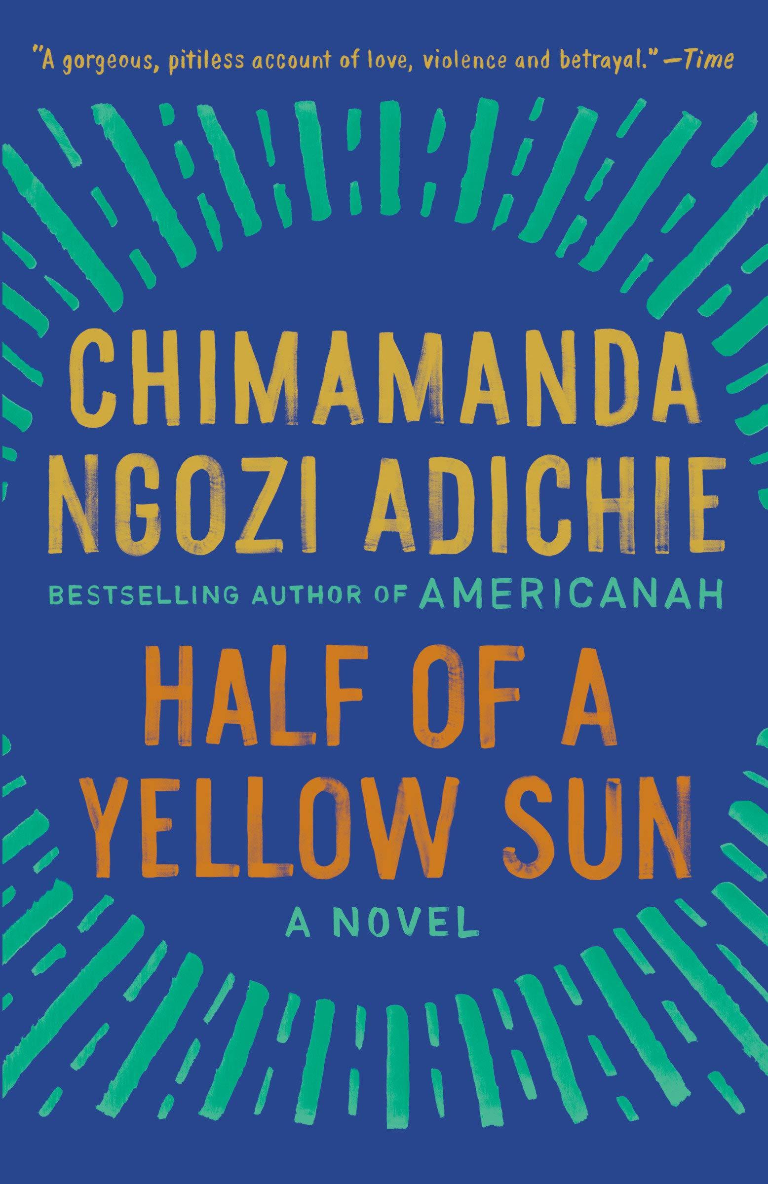 Amazon Com Half Of A Yellow Sun 8601401173335 Adichie Chimamanda Ngozi Books