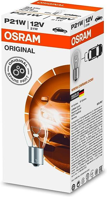 10er Faltschachtel Osram Lampen mit Metallsockeln f/ür Pkw