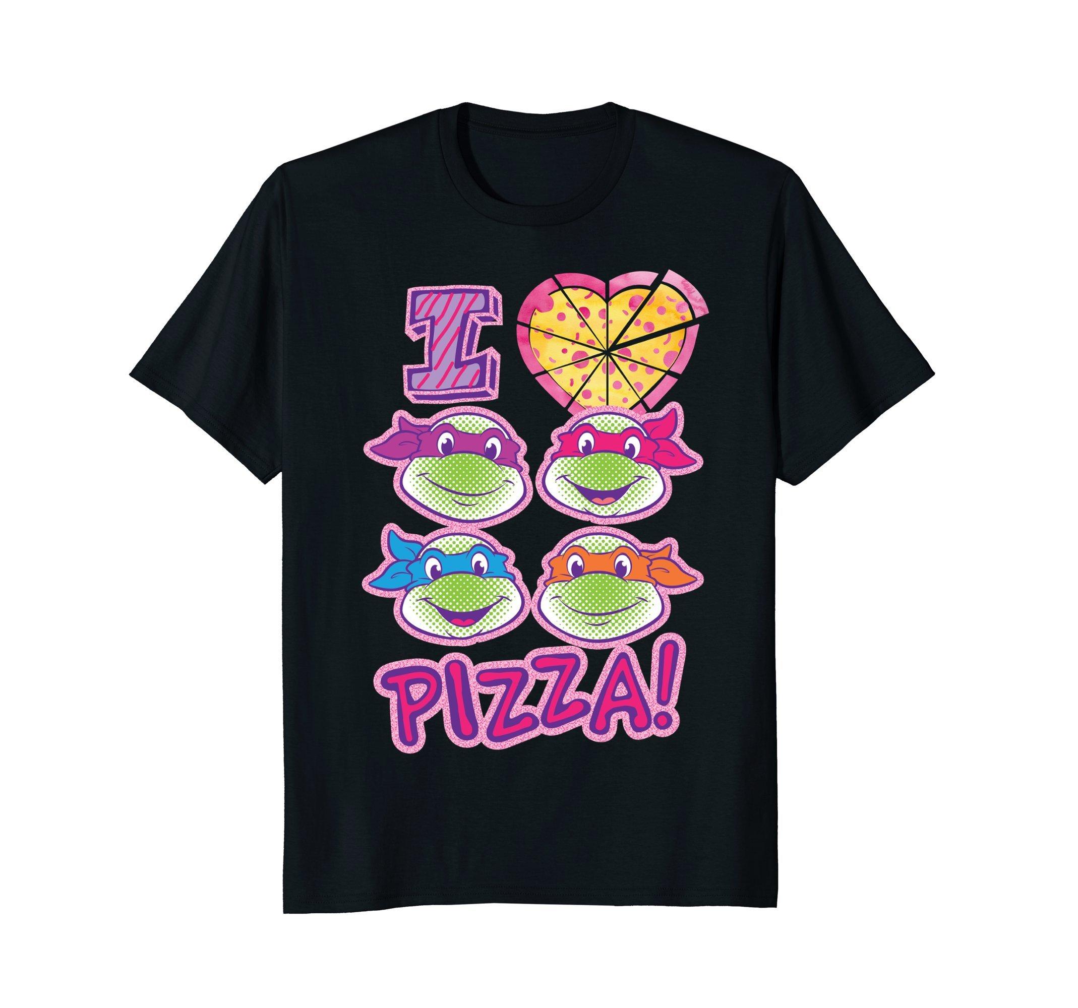 Teenage Mutant Ninja Turtles I Love Pizza T-Shirt