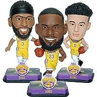 $69 » Lebron James, Anthony Davis & Danny Green Los Angeles Lakers 3-Pack Mini Big Head Set Bobblehead NBA