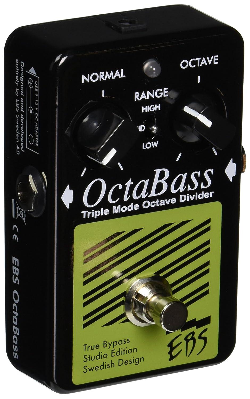 EBS EBSOCSE OctaBass Studio Edition, analog Compressor, 3 Soundmodes EBS-Pedal SE-OC