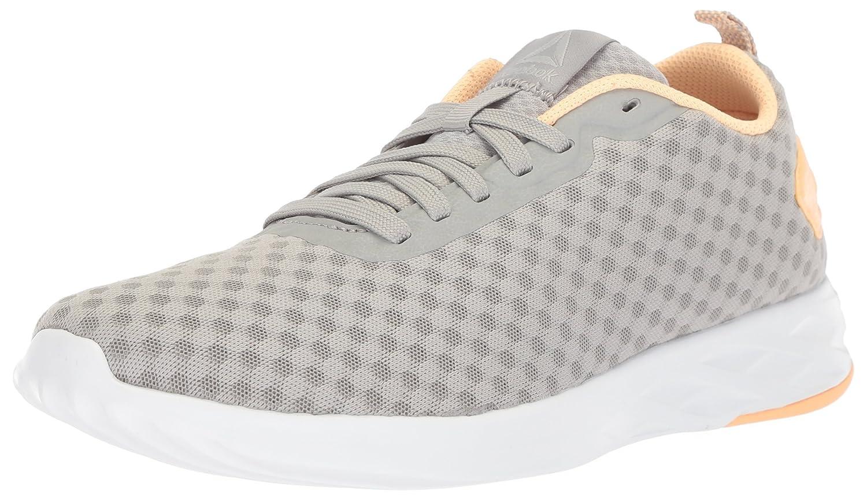 Reebok Women's Astroride Soul Sneaker B073WSS734 9 B(M) US|Stark Grey/Desert Glow/White