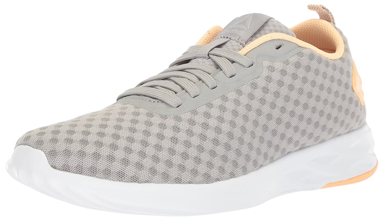Reebok Women's Astroride Soul Sneaker B073WS9ZS1 5 B(M) US|Stark Grey/Desert Glow/White