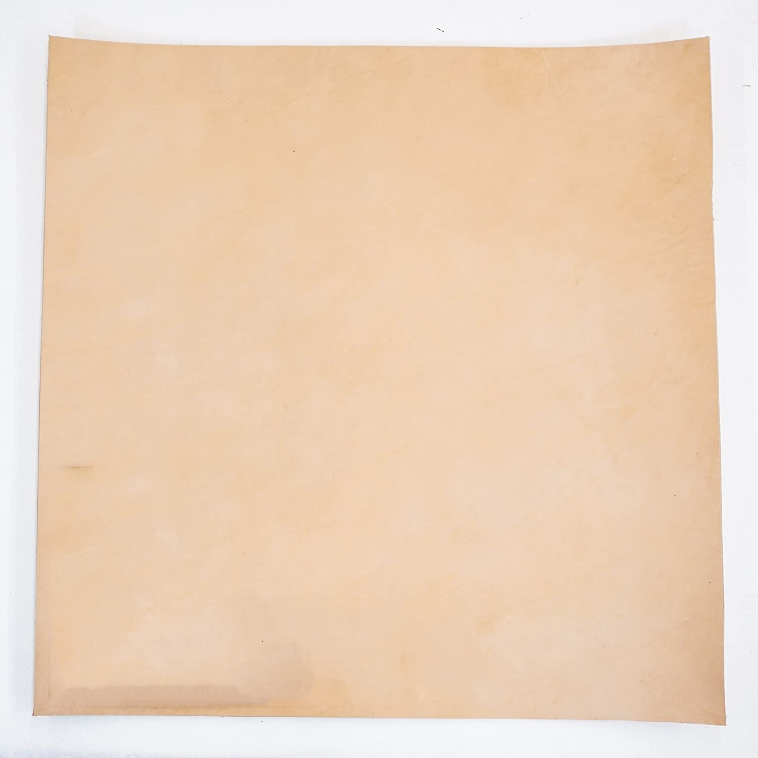 Import Vegetable Tan Cowhide Tooling Leather 5-6oz Pre-Cut 24x24