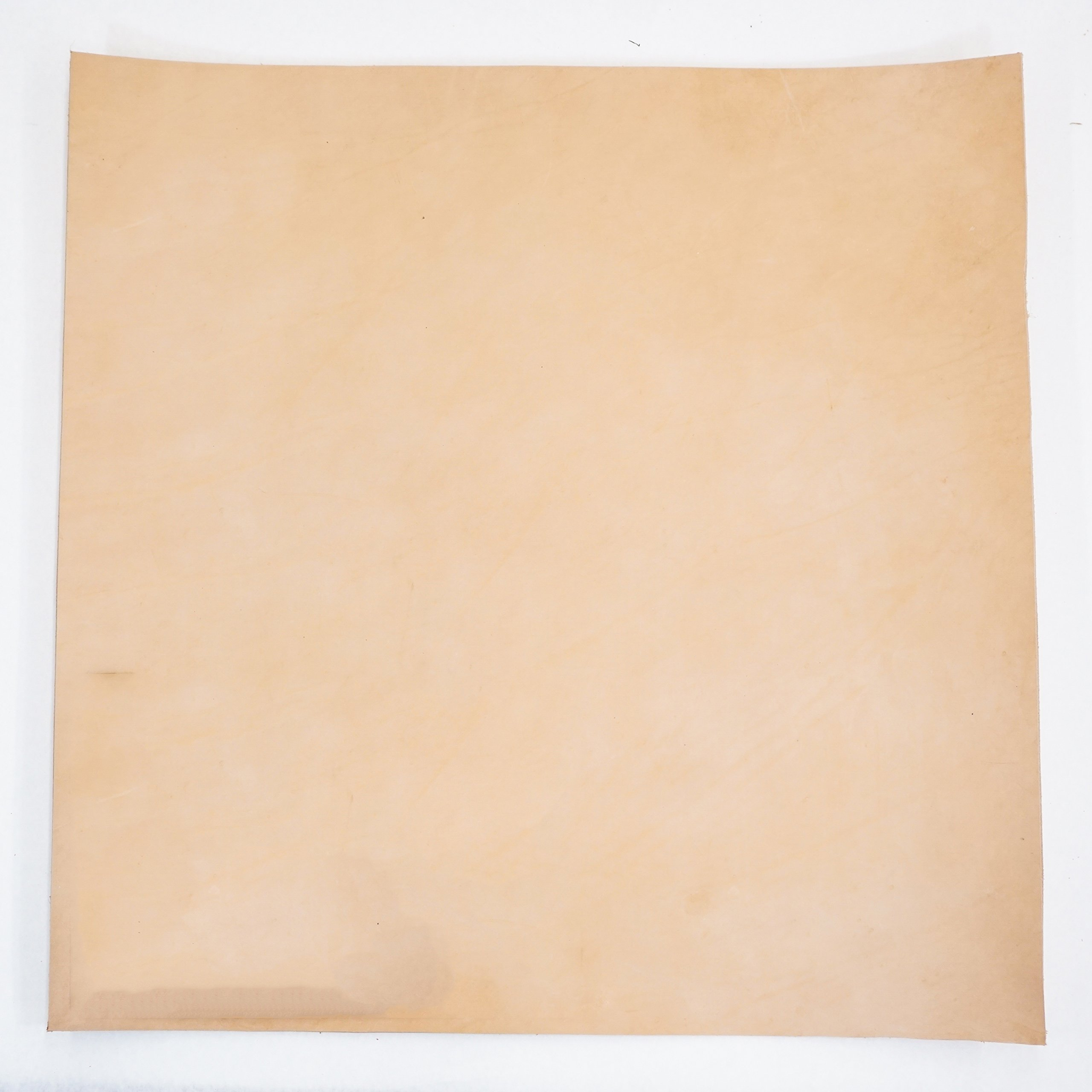 Import Vegetable Tan Cowhide Tooling Leather 8-9oz Pre-Cut (24''x24'')