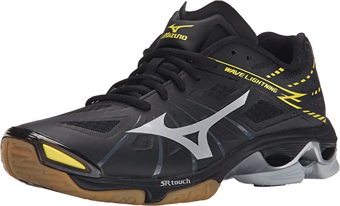 Mizuno Mens Wave Lightning Z BK-SL Volleyball Shoe