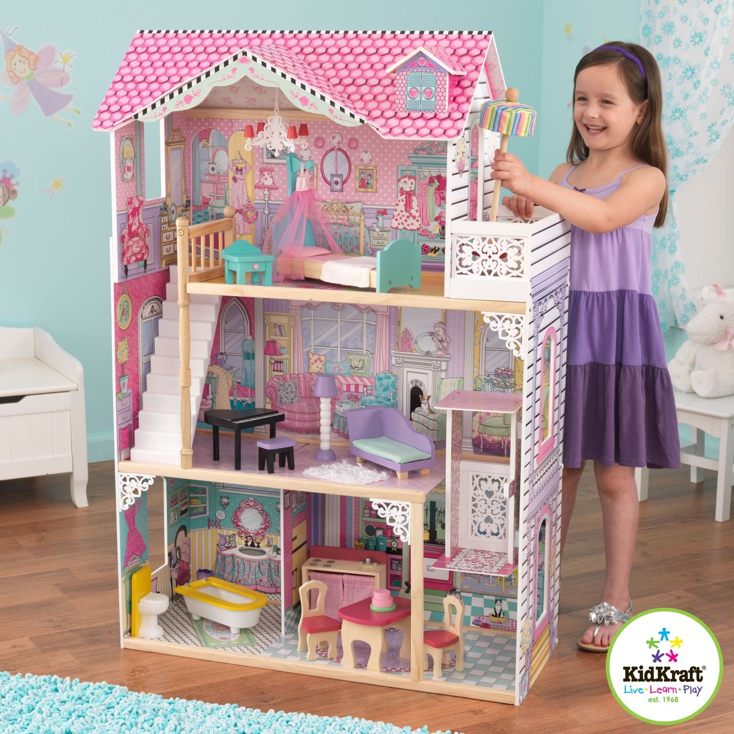 10 awesome barbie doll house models - 10 Awesome Barbie Doll House Models 30
