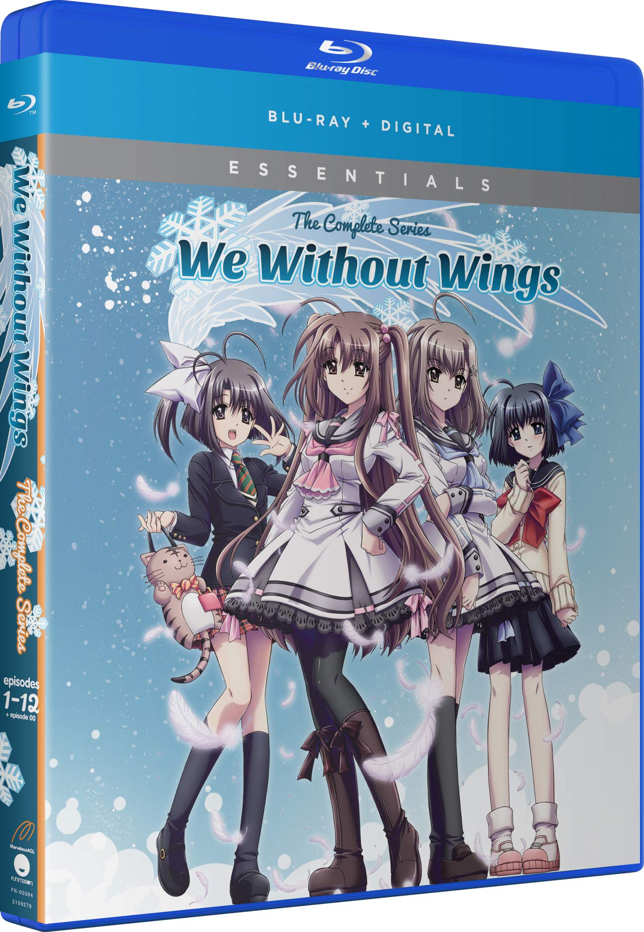 Blu-ray : We Without Wings: Season One (Snap Case, 2 Pack, Digital Copy, Subtitled)