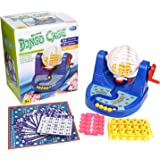CatchStar Bingo Game Set Toy with Plastic Cage, Cards, Chips, and Balls