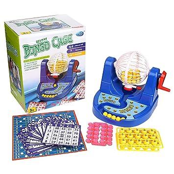 catchstar Bingo tarjetas de juego conjunto juguete con jaula ecfe614efb058
